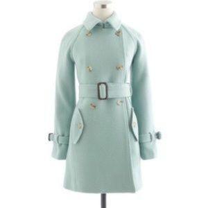 JCREW wool coat - size 8